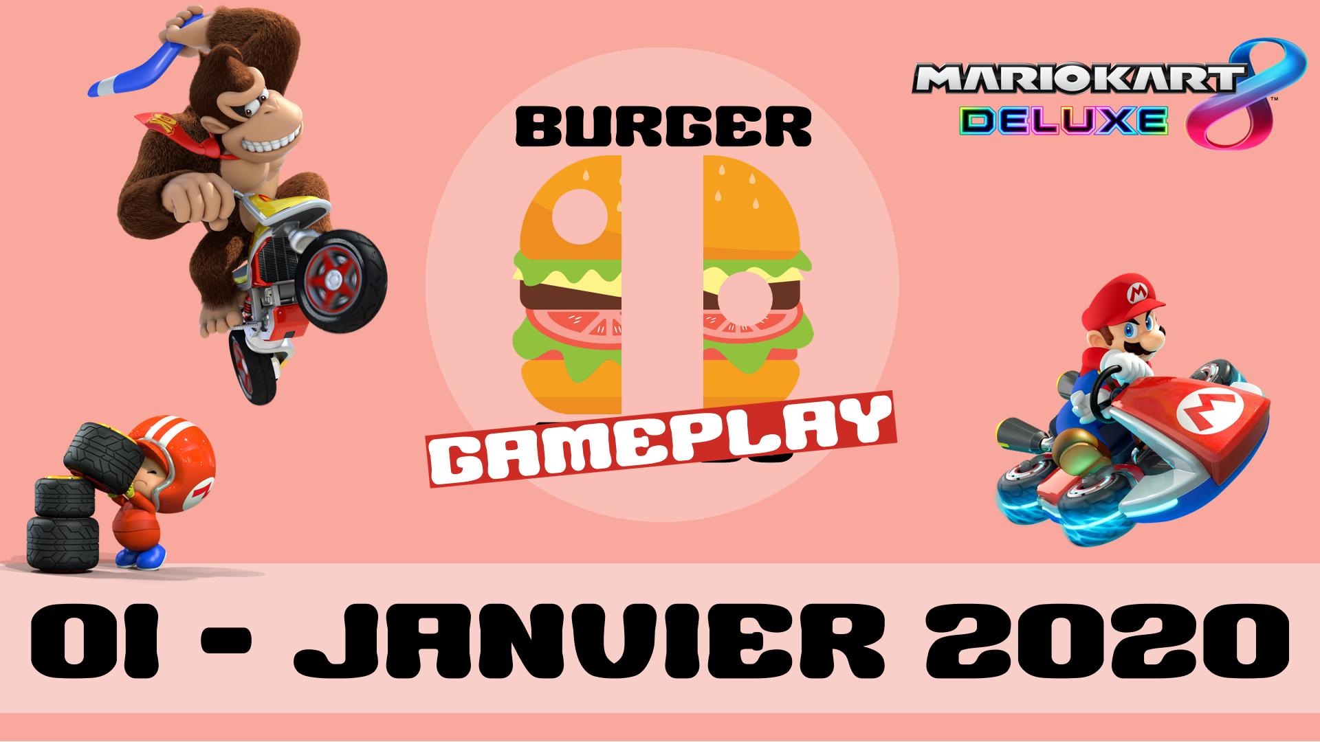 Burger Gameplay - 01 - MK